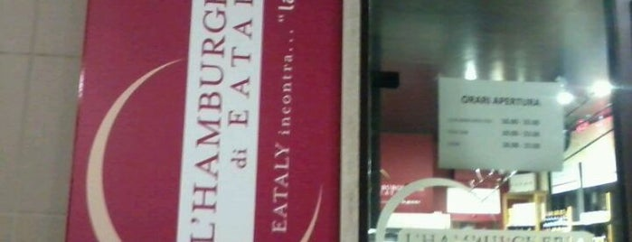 Hamburgheria di Eataly is one of Turin.