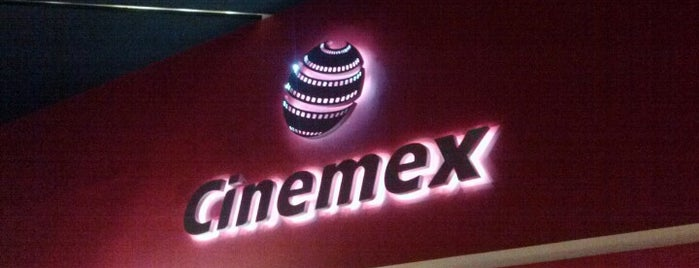 Cinemex is one of Tempat yang Disukai Oscar.
