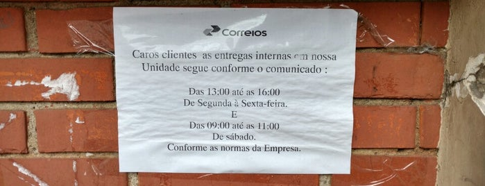 Correios is one of Shopping Center Norte.