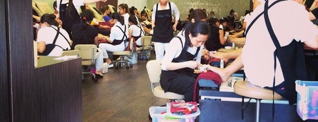 Bellagio Nails And Spa is one of Brittanyさんのお気に入りスポット.