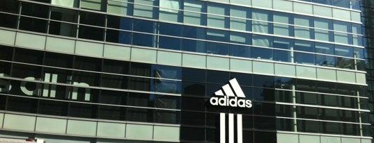adidas Brand Flagship Center is one of NYC.