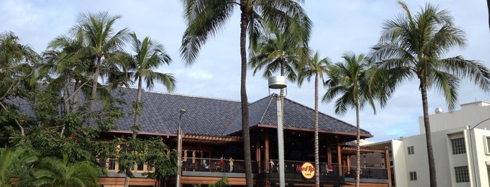 Hard Rock Cafe Honolulu is one of Hawaii🌴🌞🏄🏻‍♀️.