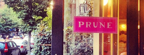 Prune is one of Trip tips: NYC.