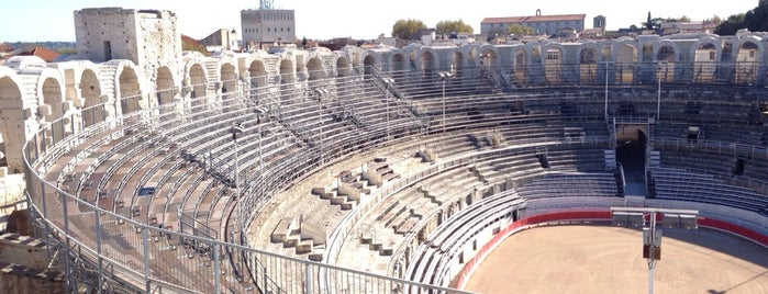 Arènes d'Arles is one of Provence adresses.