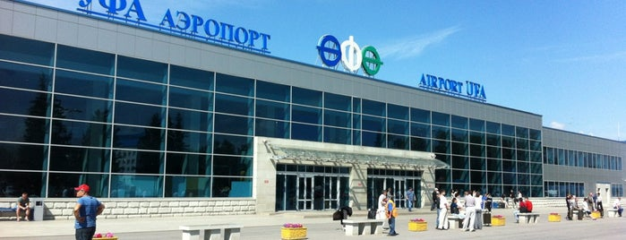 Ufa International Airport (UFA) is one of Alexanderさんのお気に入りスポット.