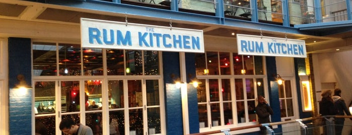 The Rum Kitchen is one of London ••Spottet••.
