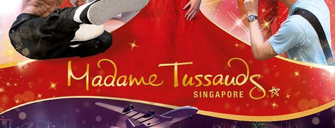 """Madame Tussauds Singapore is one of TPD """"The Perfect Day"""" Singapore (1x0)."""