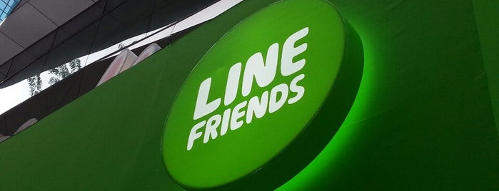 """LINE Friends Pop-Up Store at Wisma Atria is one of TPD """"The Perfect Day"""" Singapore (1x0)."""