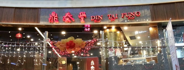 Din Tai Fung 鼎泰豐 is one of Singapur.