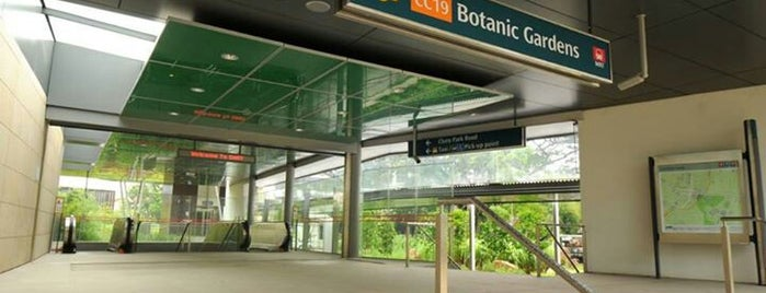 Botanic Gardens MRT Interchange (CC19/DT9) is one of Sg.
