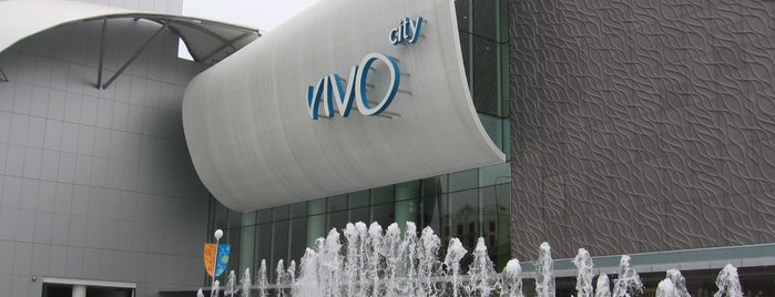 VivoCity is one of Lion City.