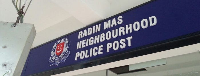 """Radin Mas Neighbourhood Police Post is one of TPD """"The Perfect Day"""" Singapore (1x0)."""