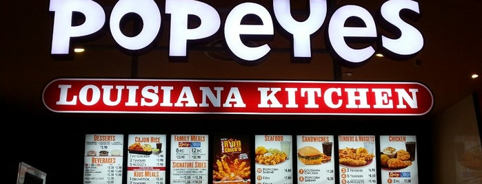 Popeyes Louisiana Kitchen is one of Posti che sono piaciuti a 冰淇淋.