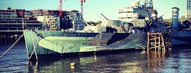 HMS Belfast is one of Trips / London.