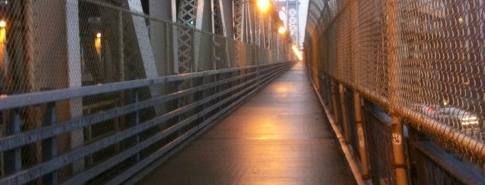 Manhattan Bridge Bike Path is one of DINA4NYC.
