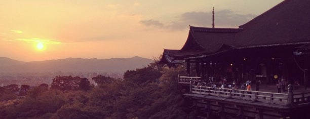 Kiyomizu-dera Temple is one of Top photography spots.