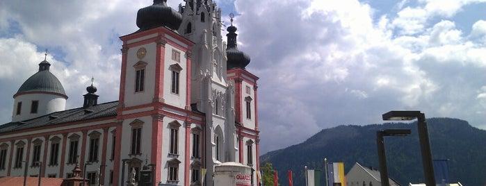 Basilika Mariazell is one of Posti che sono piaciuti a Thom.