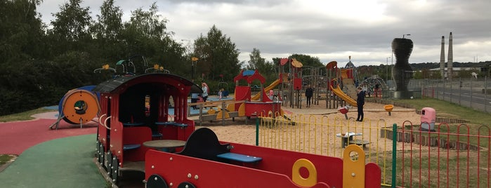 Sci-tek Playground is one of Lieux qui ont plu à James.