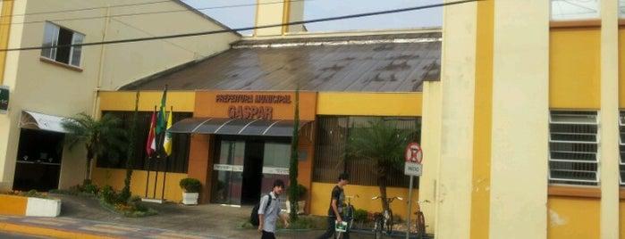 Prefeitura Municipal de Gaspar is one of สถานที่ที่ Fernando Viana ถูกใจ.