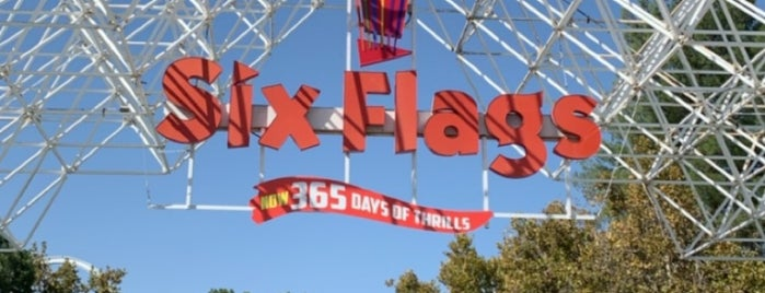 Six Flags is one of LA.