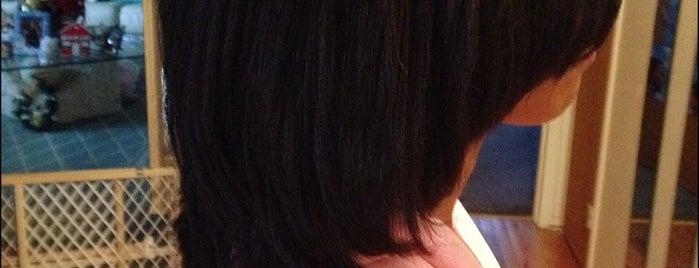 Mg Unisex Hair & Nails Salon is one of Posti che sono piaciuti a Ashley.