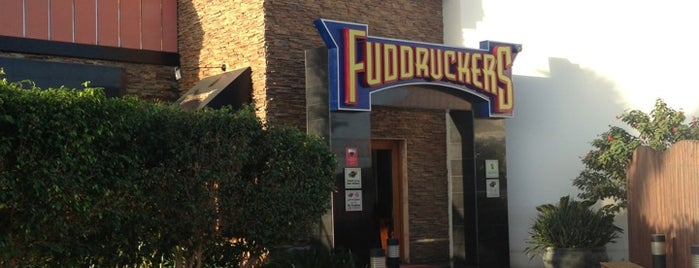 Fuddruckers is one of road.
