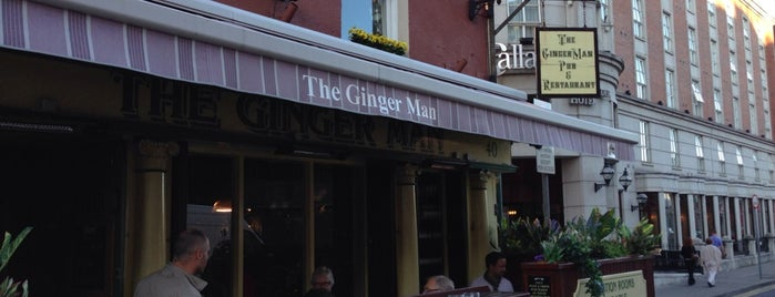 The Ginger Man is one of Drinkin' Dublin.