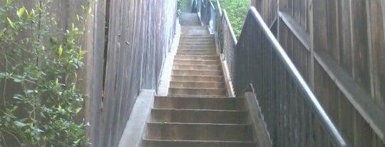 Whitley Terrace Steps is one of Kat & Ky in LA.