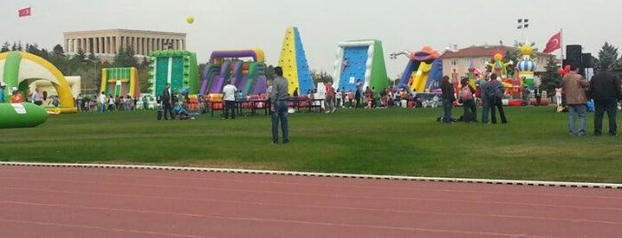 Anıttepe Spor Tesisleri is one of Tempat yang Disukai ..