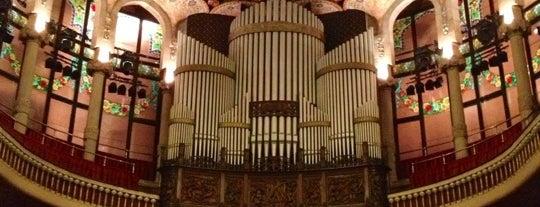Palais de la musique catalane is one of Barcelona.