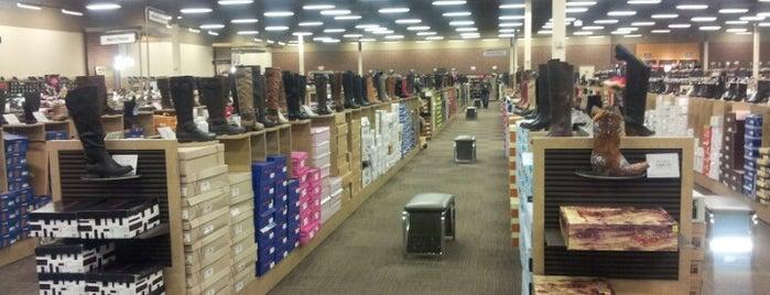 DSW Designer Shoe Warehouse is one of Jade's Favorites.