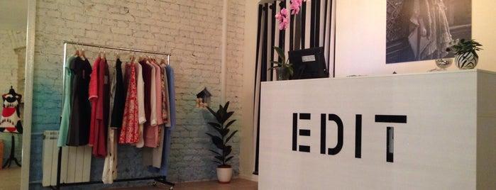 EDIT atelier/showroom is one of Locais curtidos por Yana.