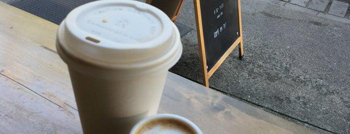 Coffee, Tea + Treats
