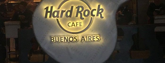 Hard Rock Cafe Buenos Aires is one of Fran!'ın Beğendiği Mekanlar.