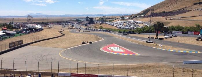 Sonoma Raceway is one of Lieux qui ont plu à Jay.
