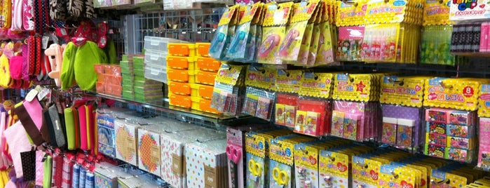 Daiso is one of Melbourne shop till you drop.