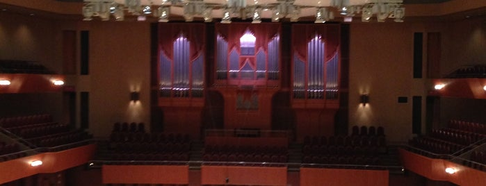 The Symphony Hall is one of Yuki's Liked Places.