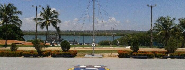 Base Naval de Natal is one of conheço.