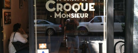La Maison du Croque Monsieur is one of La Colombe Coffee.