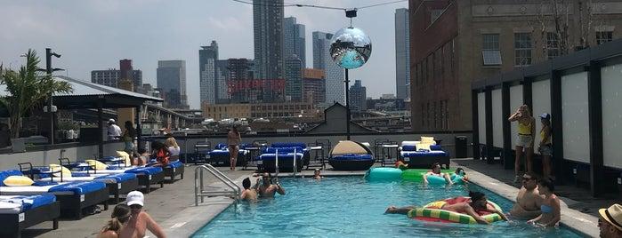 Profundo Pool Club is one of NYC.