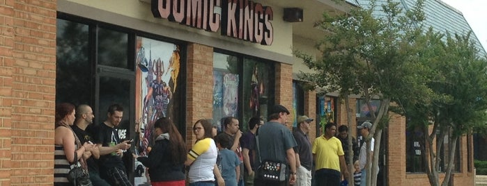 Comic Kings is one of va beach // to check out.