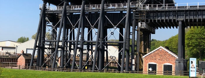 Anderton Boat Lift is one of Canal Places UK.