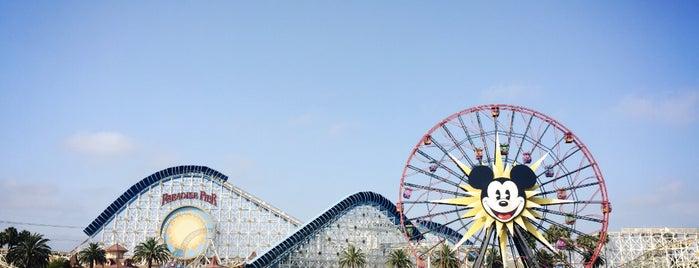 Disney California Adventure Park is one of Locais curtidos por Sammi.