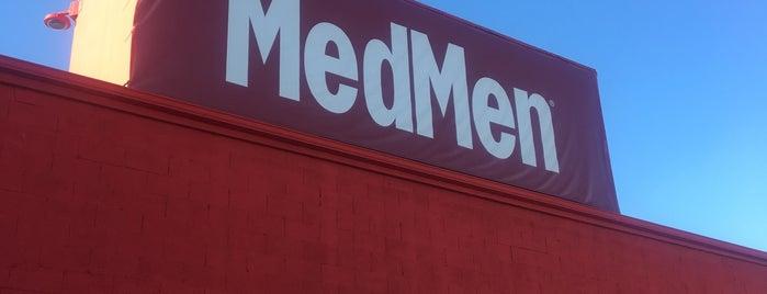 MedMen is one of Tempat yang Disukai Grant.