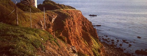 Point Vicente Lighthouse is one of LA.