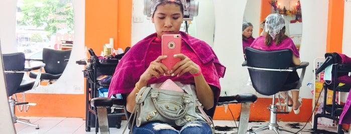 Cosmic Hair Salon, Ramintra 34 is one of Posti che sono piaciuti a Fai.