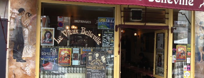 Le Vieux Belleville is one of Paris.