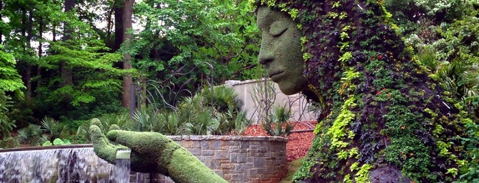 Atlanta Botanical Garden is one of Attractions.