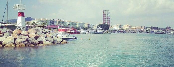 Güzelbahçe 2. Liman is one of Çiçek'in Beğendiği Mekanlar.