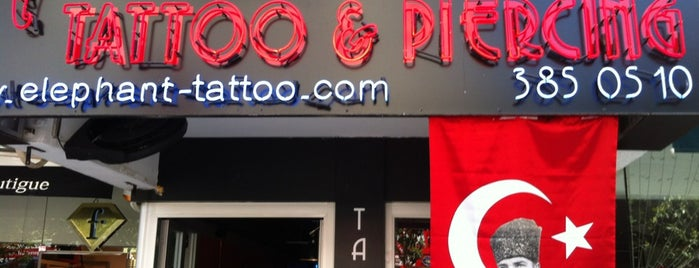 Elephant Tattoo & Piercing is one of Estambul.